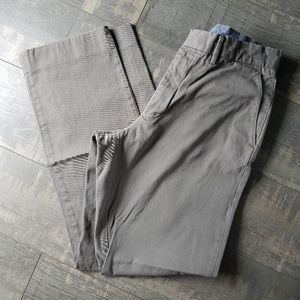J. Crew Men's Khaki Flat Front Pants Size 32x32